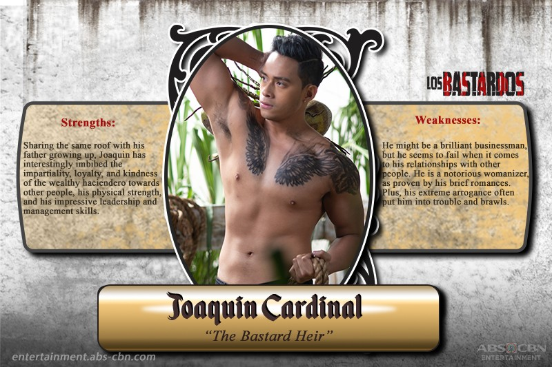 See how these hot leading men play their cards on Los Bastardos