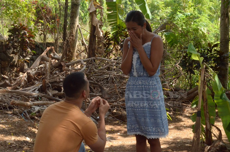 Behind-The-Scenes: Isagani's proposal to Isay #LBEskapo