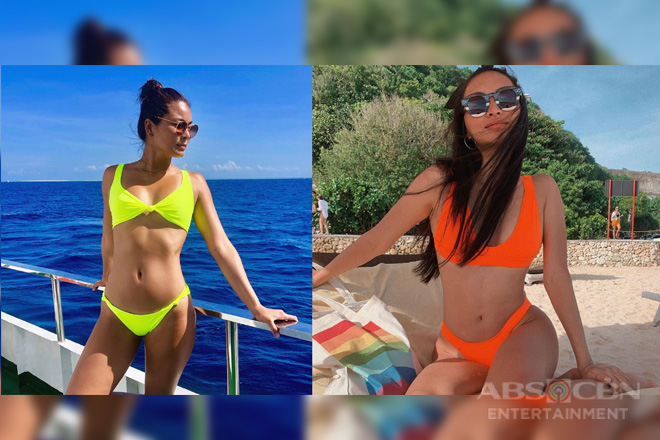 FACE-OFF! The sexiest photos of Maxine and Kylie!