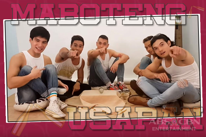 MaBOTEng Usapan with Los Bastardos' Jake, Diego, Marco, Albie and Josh