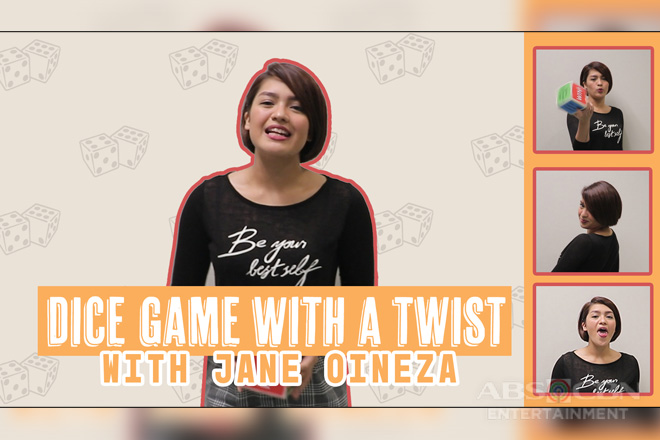 Dice Game with a twist with Jane Oineza